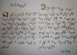300px-Georgian_calligraphy_competition_Otar_Jolia از حقایقی تاریخی تا اطلاعات فرهنگی درباره گرجستان