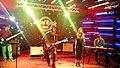 Georgian rock-band Vakis Parki performing at Hard Rock Cafe, Tbilisi. 27 October 2017 01.jpg
