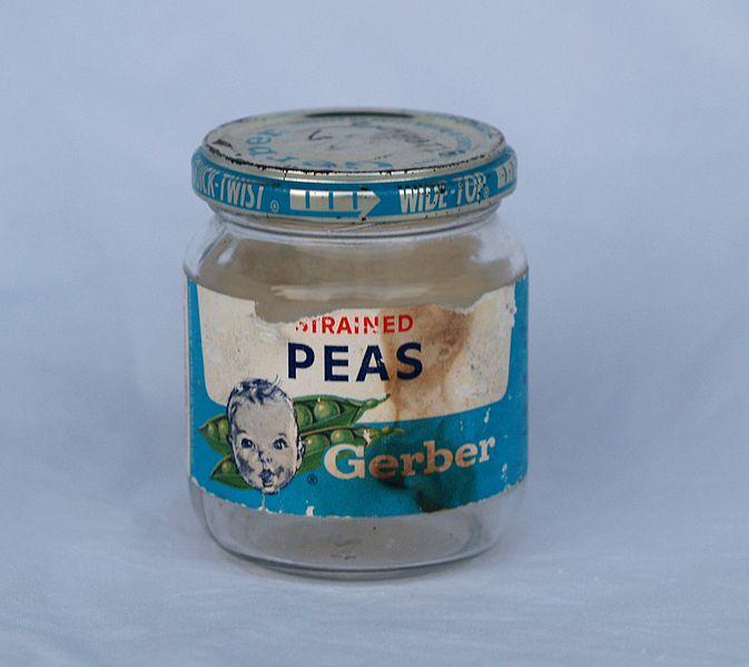 Gerber Glass Jar Baby Food