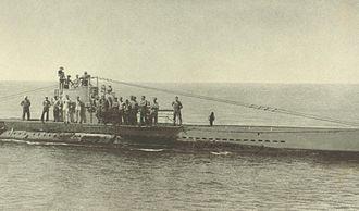 German Type U 31 submarine - Image: German Submarine U38
