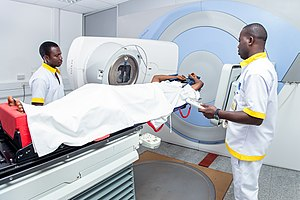 Ghanaian Radiotherapists at work.jpg