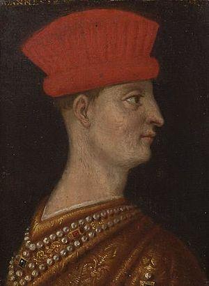 Gianfrancesco I Gonzaga, Marquess of Mantua - Portrait of Francesco I Gonzaga, Ambras castle collection, Innsbruck, Austria
