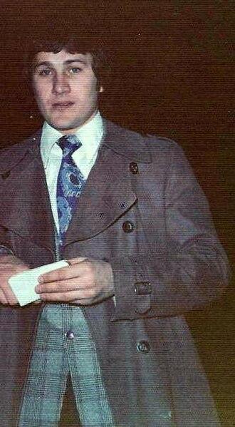 Gilbert Perreault - Gilbert Perreault at Boston Garden on April 1, 1975.
