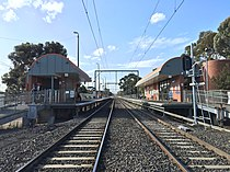 Ginifer railway station old platforms 1 and 2 from tracks.JPG
