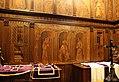 Giuliano da maiano e alesso baldovinetti, tarsie della sagrestia delle messe, 1436-1468, 02 ss. eugenio, zanobi e crescenzio 00,0.jpg