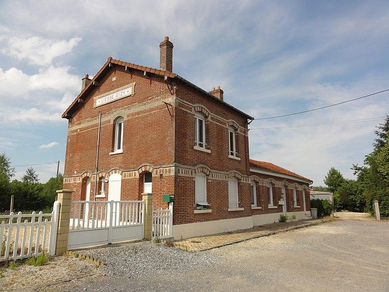 Gizy (Aisne) gare de Liesse-Gizy