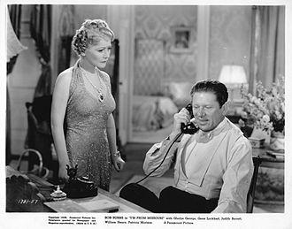Bob Burns (humorist) - Gladys George and Bob Burns in I'm from Missouri, 1939