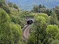 Gloggnitz - KG Aue - Semmeringbahn - Rumplertunnel und Bahnwärterhäuschen.jpg