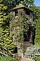 Gloriette with climbing rose at Boreham, Essex, England.jpg