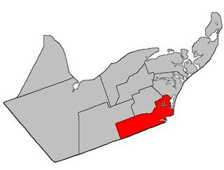Saumarez Parish, New Brunswick Parish in New Brunswick, Canada