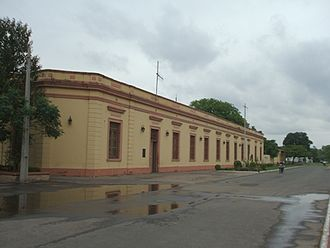 Presidente Hayes Department - Government of Presidente Hayes near the Paraguay river