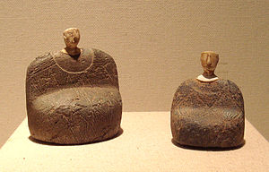 Bactria - Goddesses, Bactria, Afghanistan, 2000–1800 BC.
