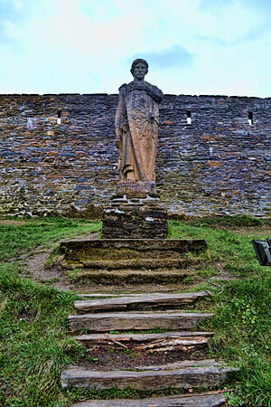 Godfrey of Bouillon - Statue of Godfrey of Bouillon in Bouillon, Belgium