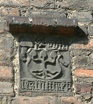 Jan Lubrański - Godziemba Coat of Arms of bishop Lubrański