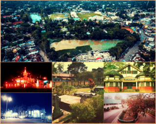 Golaghat City in Assam, India