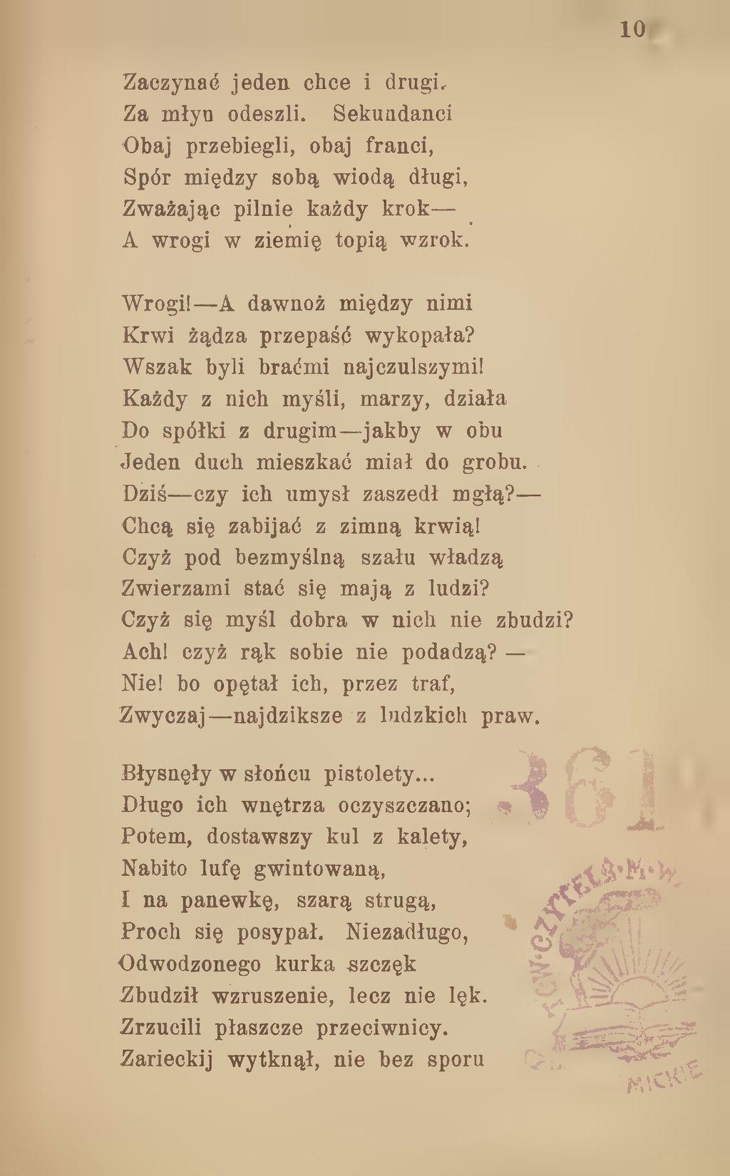 Stronagomulickiego Wiktora Wiersze Zbiór Nowydjvu104