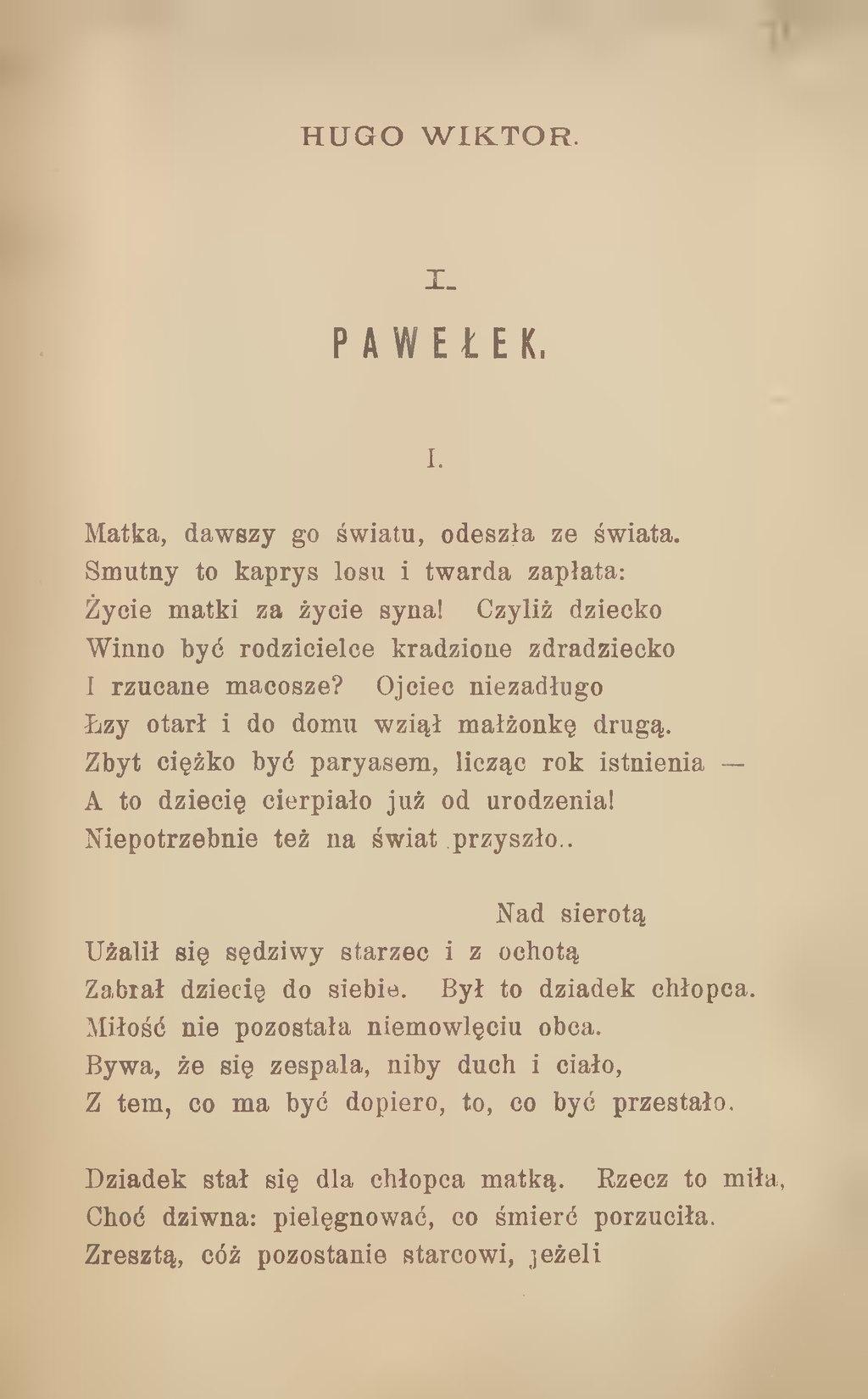 Stronagomulickiego Wiktora Wiersze Zbiór Nowydjvu74