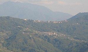 Stio - Image: Gorga (panorama with Piano del Rosario of Stio)