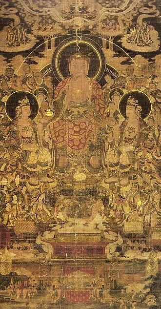 Goryeo - Illustration of Maitreyavyakarana-sutra(彌勒下生經變相圖)
