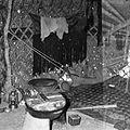 Gospodarstwo turkmeńskie - wnętrze jurty - Afganistan - 001745n.jpg