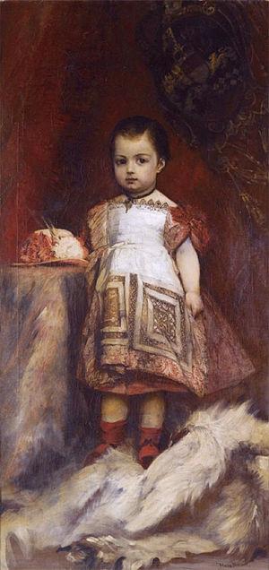 Prince Gottfried von Hohenlohe-Schillingsfürst - Gottfried as a child