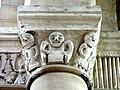 Gournay-en-Bray (76), collégiale St-Hildevert, bas-côté sud, chapiteaux du 5e pilier libre, côté ouest 2.jpg