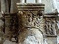 Gournay-en-Bray (76), collégiale St-Hildevert, chœur, 3e grande arcade du nord, chapiteaux côté est 1.jpg