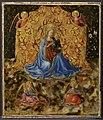 Gozzoli - Madonna con il Bambino, due angeli reggicortina e due angeli musicanti, 1440-1445 circa.jpg