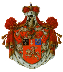 http://upload.wikimedia.org/wikipedia/commons/thumb/e/e7/Grand_COA_of_Sapiega_family_%28Lithuania%29.png/209px-Grand_COA_of_Sapiega_family_%28Lithuania%29.png