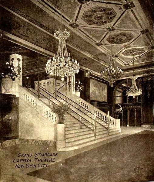 File:Grand Staircase, Capitol Theatre, New York City 1920.jpg