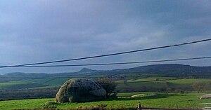 Luxulyan - A small granite dome near Luxulyan