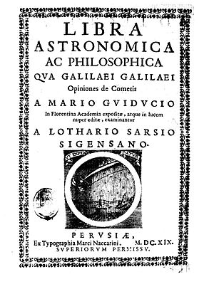 Orazio Grassi - Libra astronomica ac philosophica