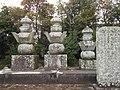 Grave of Nabeshima Mitsushige in Kōden-ji Saga.jpeg