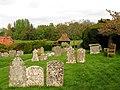 Graveyard, Inkpen Church - geograph.org.uk - 6307.jpg