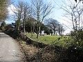 Graveyard at Pyecombe church - geograph.org.uk - 1745480.jpg