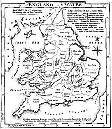 Historic counties of England  Wikipedia