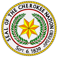Great seal of the cherokee nation.svg