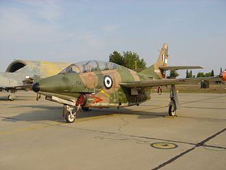North American T-2 Buckeye - A T-2E Buckeye of the Hellenic Air force.