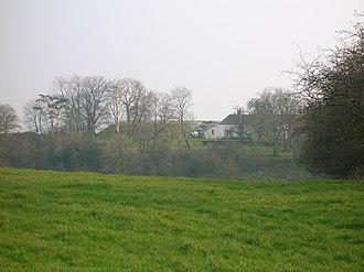 Knockentiber - The large Tumulus or Mound at Greenhill Farm. 2007.
