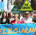 Greens at People's Climate March in Melbourne 2014.jpg