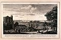 Greenwich, viewed from the Royal Observatory. Engraving by S Wellcome V0013239.jpg