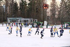 Gressbanen - Ready playing a Norwegian Bandy Premier League match against Ullevål IL in 2011