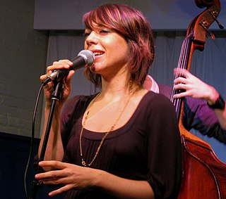 Gretchen Parlato American jazz singer