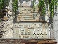Grisy-les-Plâtres (95), plaque de cocher, place du Soleil Levant.JPG