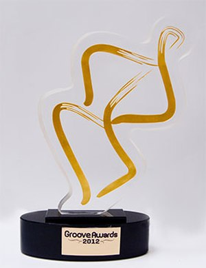 Groove Awards - Groove Awards trophy, 2012