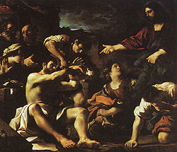 Guercino: The Raising of Lazarus