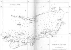 Gulf of Kutch - Gulf of Kutch in 1896
