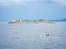 Gullholmen lighthouse in Moss commune, Norway.jpg