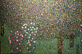 Gustav klimt, rosai sugli alberi, 1905 ca. 02.JPG