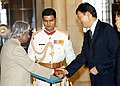 H.E. MR. KAIRAT E. UMAROV DESIGNATE MBASSADOR OF THE REPUBLIC OF KAZAKHSTAN PRESENTED HIS CREDENTIALS TO THE PRESIDENT DR. APJ ABDUL KALAM AT RASHTRAPATI BHAVAN IN NEW DELHI ON SEPTEMBER 29, 2004.jpg